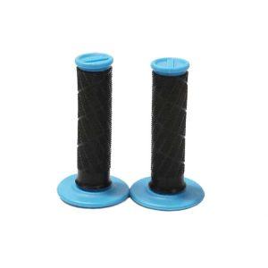 Kwala Pro Series Dual Ply MX Grips – Black / Blue