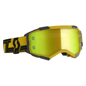 Scott Fury Goggles Yellow Black