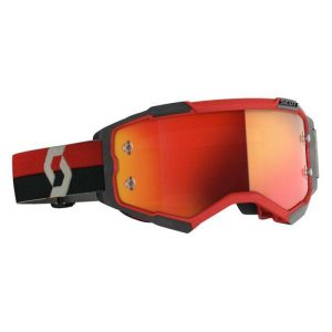 Scott Fury Goggles Red Black