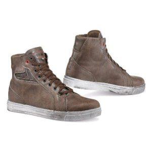 TCX Street Ace Waterproof Brown Sneaker