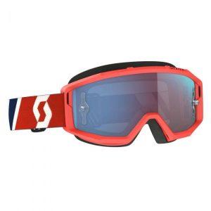 Scott Primal Goggles Red Blue